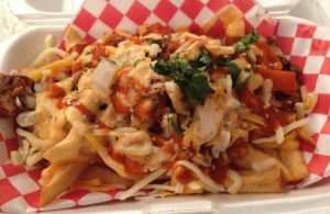 Kimchi Fries, Chi'lantro, food truck, austin, texas