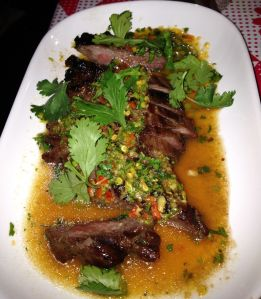 Charcoal Grilled Pork Neck, Pok Pok NY